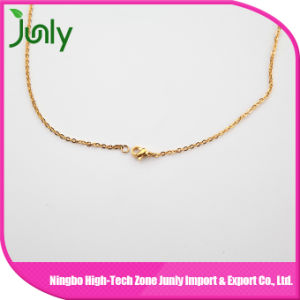 Women Alloy Necklace Fashion Gold Chain Necklace Designs pictures & photos