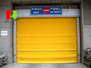 Folding up High Speed Stacking Roller Shutter Door (Hz-FC0110) pictures & photos