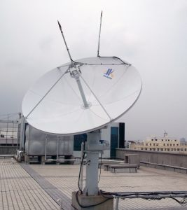 3.0m Full Motion Earth Station Vsat Antenna pictures & photos