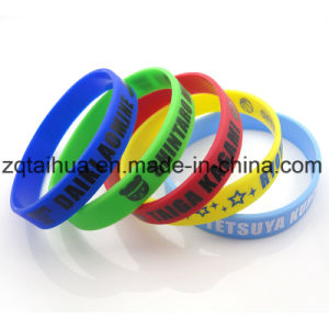 Wholesale Custom Silicone Wristband with Thb-059 pictures & photos
