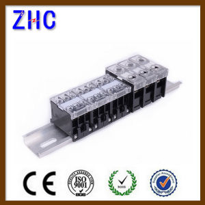 Zcin Series DIN Rail Type Plastic Combined Terminal Block pictures & photos