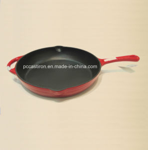 China Factory Cast Iron Grill Pan 26X26cm pictures & photos