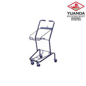 Powder Shopping Basket Trolley for Sale pictures & photos
