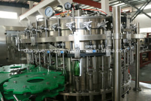 Complete Auto Carbonated Drink Filling Capping Machinery for Glass Bottle pictures & photos