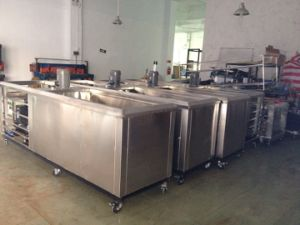 Ice Lolly Production Line/Batch Freezer/Stainless Steel Ice Cream Maker 24000PCS/Day pictures & photos