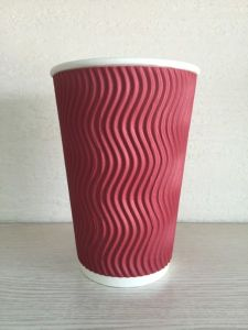 12oz Hot Drink Ripple Paper Cup (YHC-108) pictures & photos