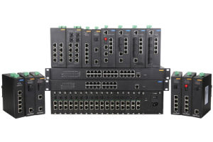 5 RJ45 and 1 Gigabit SFP Industrial Ethernet Network Switch pictures & photos