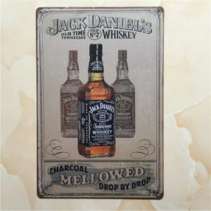 20*30cm Jack Daniel Metal Plate pictures & photos