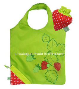 Foldable Shopper Bag, Fruits Strawberry Style, Reusable, Lightweight, Grocery Bags and Handy, Gifts, Promotion, Accessories & Decoration pictures & photos
