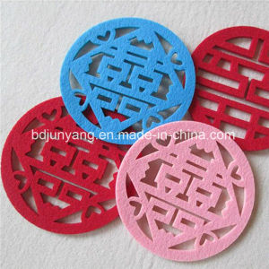 Various Styles Laser Cutting Felt Coaster Place Mat pictures & photos