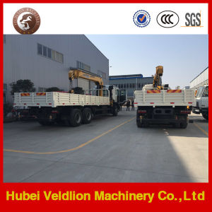 JAC 6X4 Truck with Crane, JAC 10ton Truck Mounted Crane pictures & photos