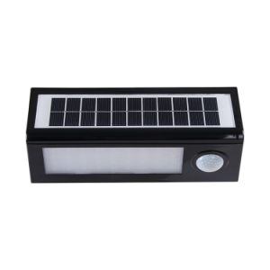 LED Waterproof Sensor Wall Lamp Outdoor Garden Street Solar Light pictures & photos