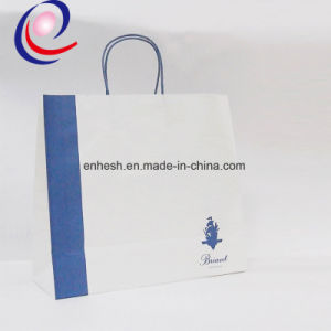 White Kraft Paper Bag, Customized Design Are Welcome pictures & photos