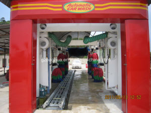 7brush/9brush/12brush Full Automatic Tunnel Type Car Wash Machine/Car Washing Machine with Drying System pictures & photos