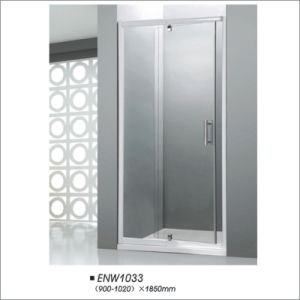 Tempered Glass Pivot Shower Door pictures & photos