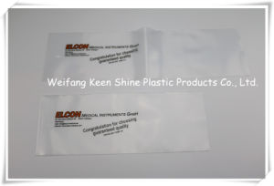 Custom Print Side Seal LDPE Plastic Zip Lock Bag with Die Cut Hole pictures & photos