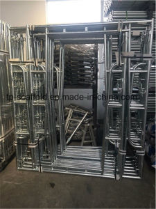 Galvanized Walk Through Frame Scaffolding for USA/Canada Market pictures & photos
