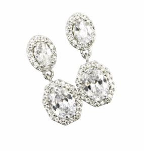925 Silver CZ Earring pictures & photos