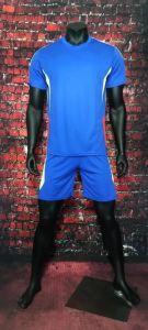 Blue Football Uniforms Kits pictures & photos