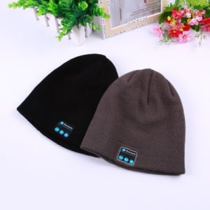 High Qualtity Acrylic Knitting Bluetooth Hat pictures & photos