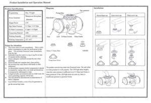 Faucet Ozone Purifier (SW-1000) pictures & photos