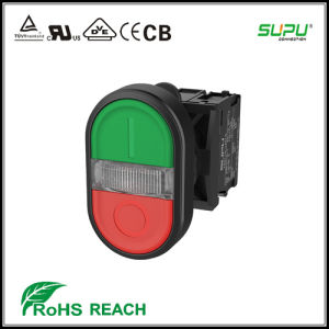 Supu Illuminated Twin Pushbutton pictures & photos