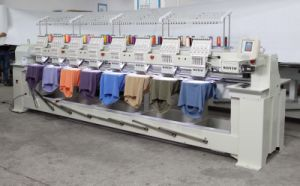 Wonyo 8 Head Cap Embroidery Machine with Tajima Software pictures & photos