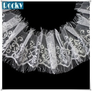 DIY Craft Sewing Dress Eyelash Lace Trimming Stretch Lace