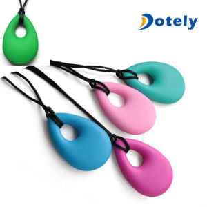 Teardrop Silicone Nursing Necklace Jewelry pictures & photos