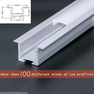 Pn4153 LED Extrusion Linear Light Aluminium Profile pictures & photos