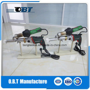 Automatic Cutting Welding Torch Machinery for Plastic Material pictures & photos