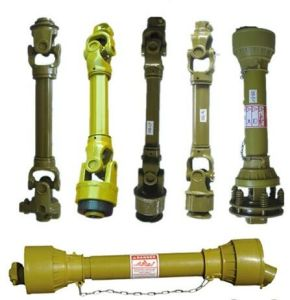 Pto Shaft with Push Pin and Plain Bore Yoke pictures & photos