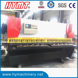 QC11Y-6X3200 Nc control Hydraulic guillotine shearing cutting machine pictures & photos