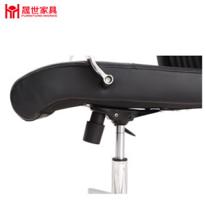 Hot Sale PU Leather Chair with Armrest for Office pictures & photos