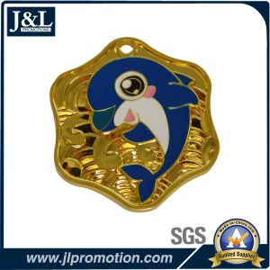 Good Quality Shiny Gold Medal in Customer Design pictures & photos