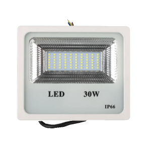 New Item of White/Black LED Flood Light 30W