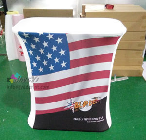 Portable Promotion Table Aluminum Counter Tradeshow Event Exhibition Display Banner pictures & photos