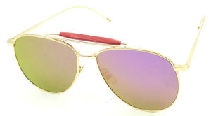 FM171018 New Design Style Metal Sunglasses Mirror UV400 Lens pictures & photos