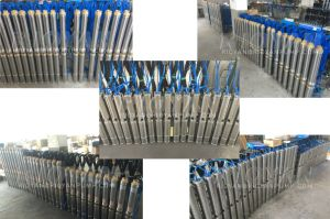 3inch/75qjd Brass Copper Wire Stainless Steels Oil-Filed Submersible Barehole Pump (75QJD1.8-14/0.37kW) pictures & photos