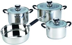 7PCS Stainless Steel Non-Stick Cookware Set Kitchenware pictures & photos