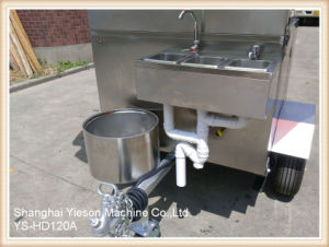 Ys-HD120A Stainless Steel Hot Dog Cart Mobile Food Carts pictures & photos
