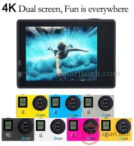 Waterproof Ultra HD 4k Dual Screen 2.0′ Ltps LCD WiFi Sport DV Action Camera pictures & photos