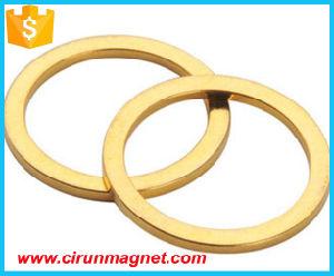 "3/4"" Od X 3/8"" ID X 1/8"" Thick N52 Custom Permanent Ring Neodymium Magnet"