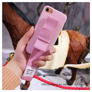 Hand Rope Phone Case with Wrist Band Mobile Cell Phone Case for iPhone pictures & photos