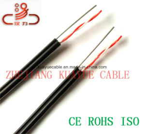 Drop Wire 2 Pair Telephone Cable/Computer Cable/ Data Cable/ Communication Cable/ Connector/ Audio Cable pictures & photos