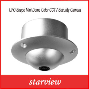 UFO Shape Mini Dome Color CCTV Security Camera pictures & photos