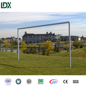 Custom 8′x24′ in Ground Metal Football Goal Soccer Goal Post pictures & photos