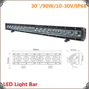 Hot Sale 90W 29.8 Inch LED Light Bar Series 7 pictures & photos