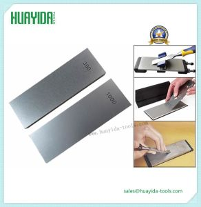 Double Side Different Grit Diamond Sharpener Stone for Knife
