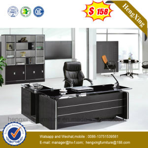 Manager Office Desk Glass Top Check-in Office Furniture (NS-ND135) pictures & photos